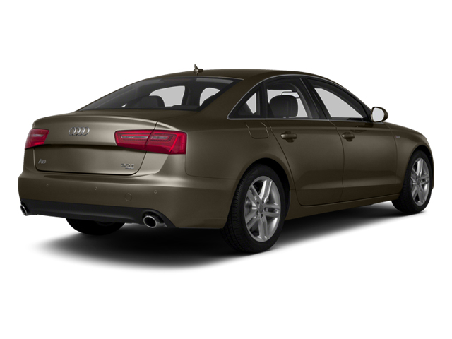 Dakota Gray Metallic 2013 Audi A6 Pictures A6 Sedan 4D 2.0T Premium Plus 2WD photos rear view