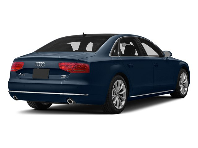 Night Blue Pearl 2013 Audi A8 L Pictures A8 L Sedan 4D 3.0T L AWD V6 Turbo photos rear view