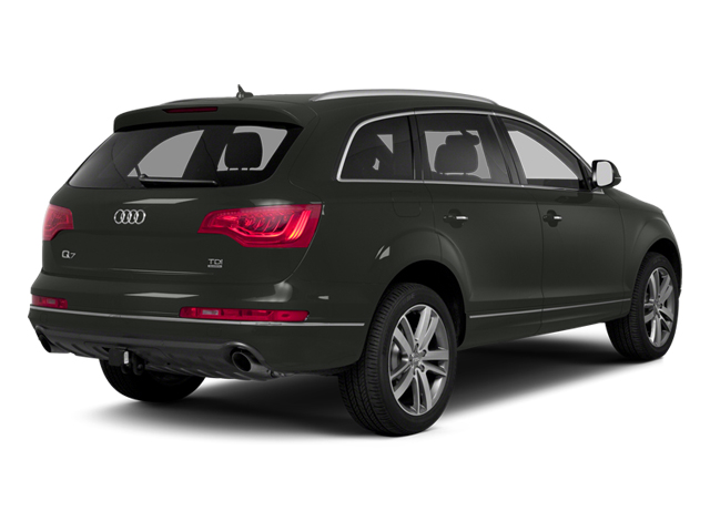 Daytona Gray Pearl Effect 2013 Audi Q7 Pictures Q7 Utility 4D 3.0 TDI Prestige S-Line A photos rear view