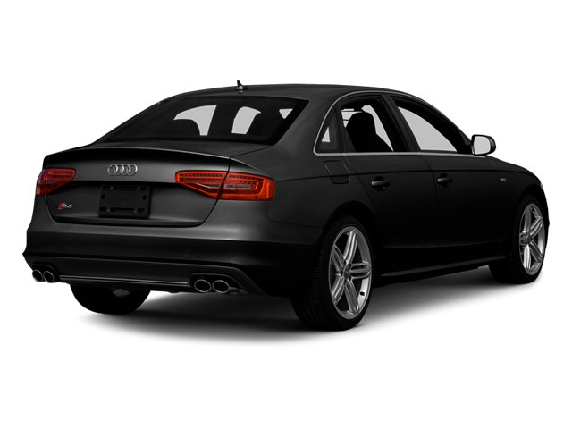 Brilliant Black 2013 Audi S4 Pictures S4 Sedan 4D S4 Prestige AWD photos rear view