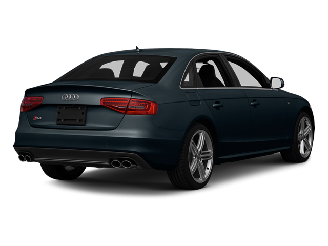 Moonlight Blue Metallic 2013 Audi S4 Pictures S4 Sedan 4D S4 Prestige AWD photos rear view