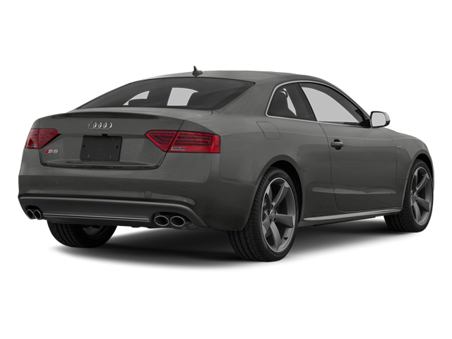 Monsoon Gray Metallic 2013 Audi S5 Pictures S5 Coupe 2D S5 Prestige AWD photos rear view