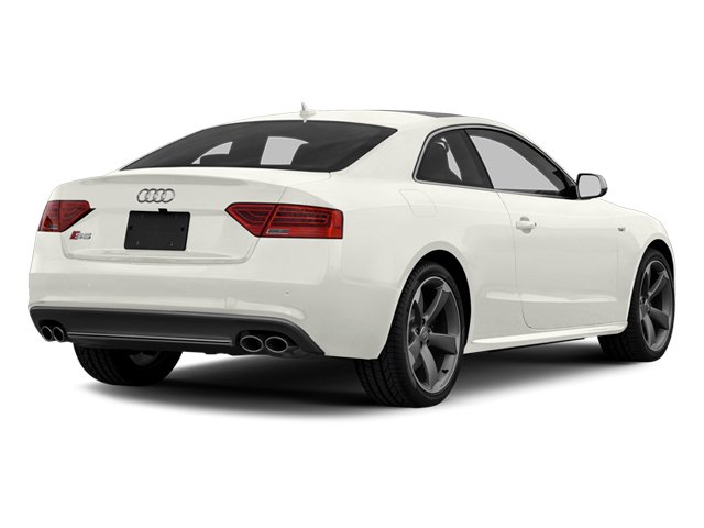 Ibis White 2013 Audi S5 Pictures S5 Coupe 2D S5 Prestige AWD photos rear view