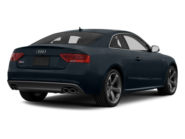 Moonlight Blue Metallic 2013 Audi S5 Pictures S5 Coupe 2D S5 Prestige AWD photos rear view