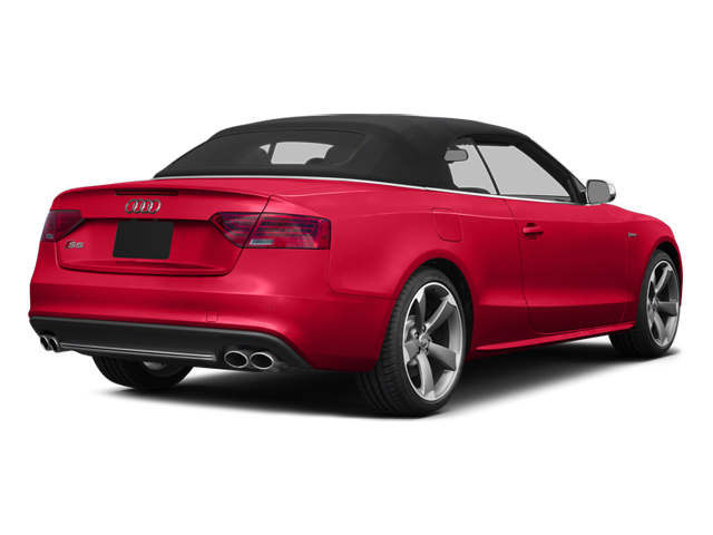 Misano Red Pearl 2013 Audi S5 Pictures S5 Convertible 2D S5 Prestige AWD photos rear view