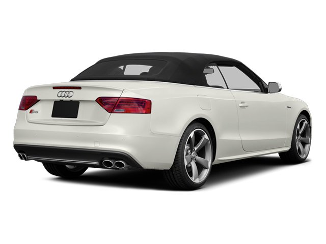 Ibis White 2013 Audi S5 Pictures S5 Convertible 2D S5 Prestige AWD photos rear view