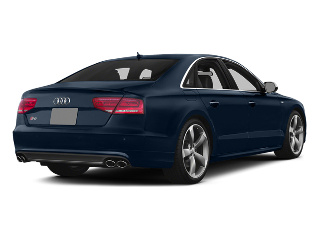 Night Blue Pearl 2013 Audi S8 Pictures S8 Sedan 4D S8 AWD photos rear view