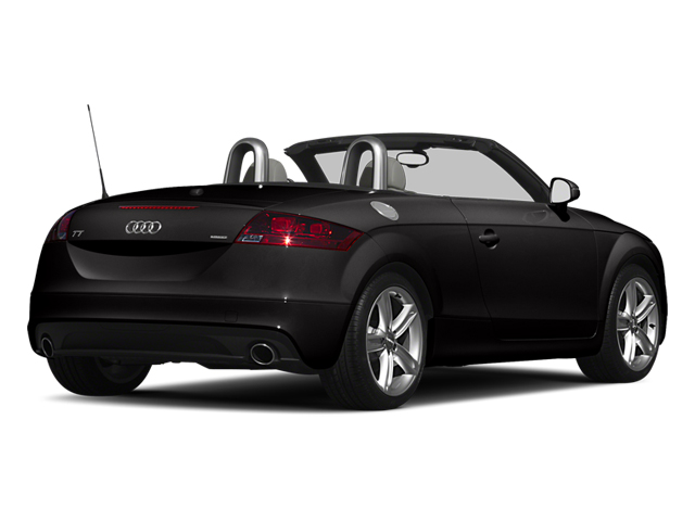 Oolong Gray Metallic 2013 Audi TTS Pictures TTS Roadster 2D Prestige AWD photos rear view