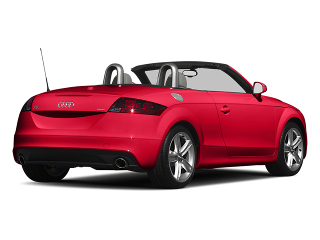 Misano Red Pearl 2013 Audi TTS Pictures TTS Roadster 2D Prestige AWD photos rear view