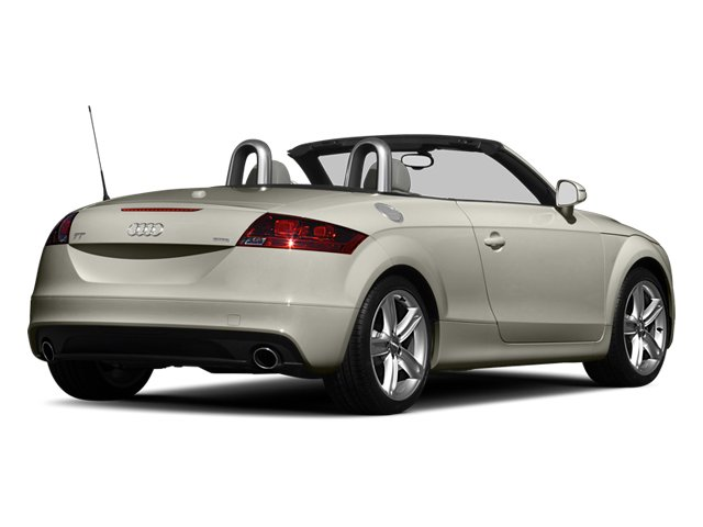 Ice Silver Metallic 2013 Audi TT Pictures TT Roadster 2D Prestige AWD photos rear view
