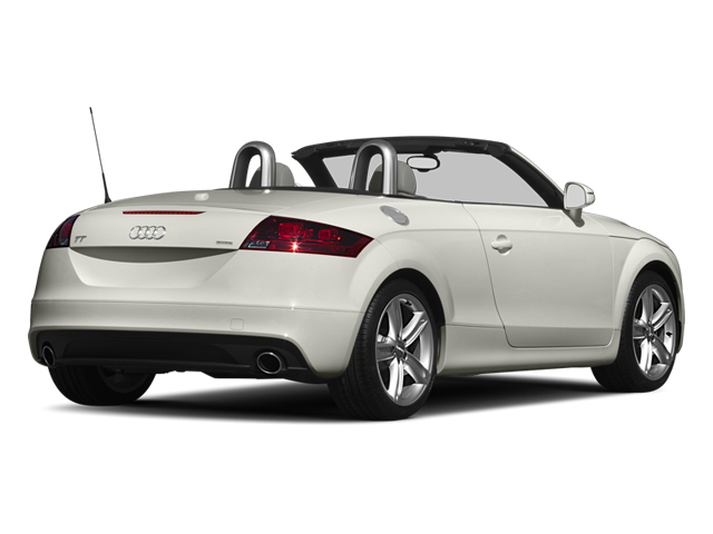 Ibis White 2013 Audi TT Pictures TT Roadster 2D Prestige AWD photos rear view