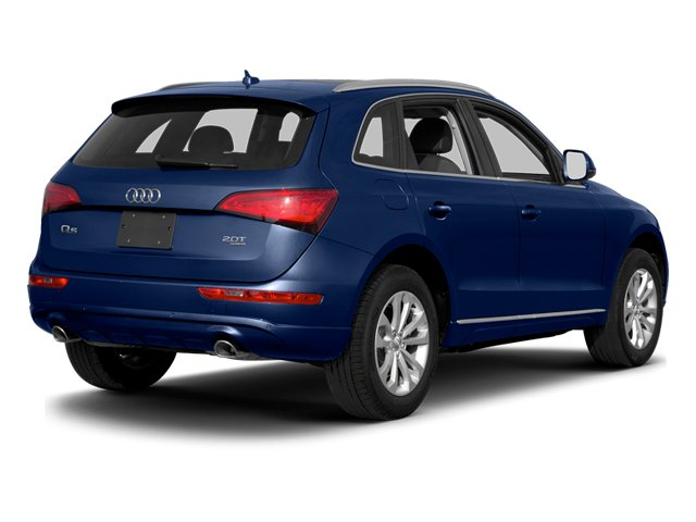 Scuba Blue Metallic 2013 Audi Q5 Pictures Q5 Utility 4D 3.0T Prestige S-Line AWD photos rear view