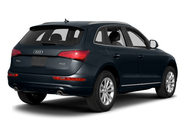 Moonlight Blue Metallic 2013 Audi Q5 Pictures Q5 Utility 4D 3.0T Prestige S-Line AWD photos rear view