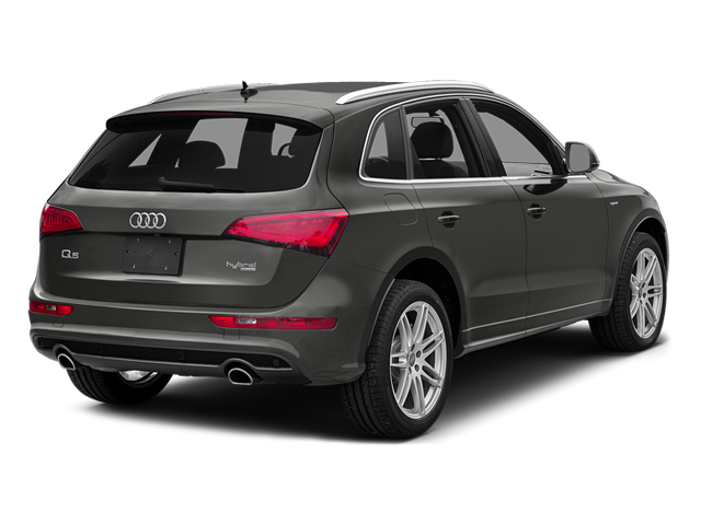 Monsoon Gray Metallic 2013 Audi Q5 Pictures Q5 Utility 4D 2.0T Prestige AWD Hybrid photos rear view