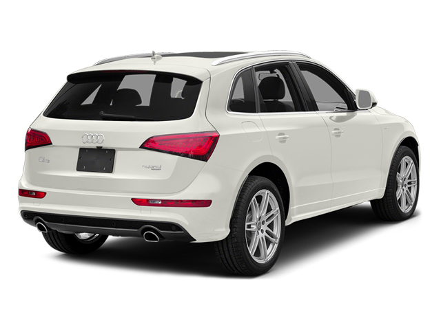 Ibis White 2013 Audi Q5 Pictures Q5 Utility 4D 2.0T Prestige AWD Hybrid photos rear view