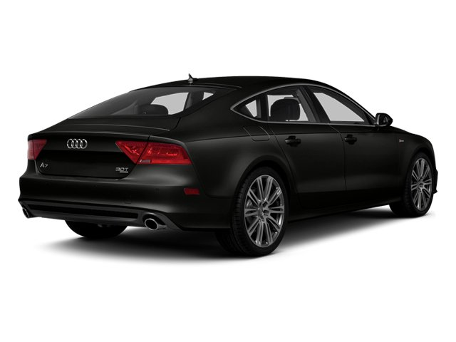 Havanna Black Metallic 2013 Audi A7 Pictures A7 Sedan 4D 3.0T Premium Plus AWD photos rear view