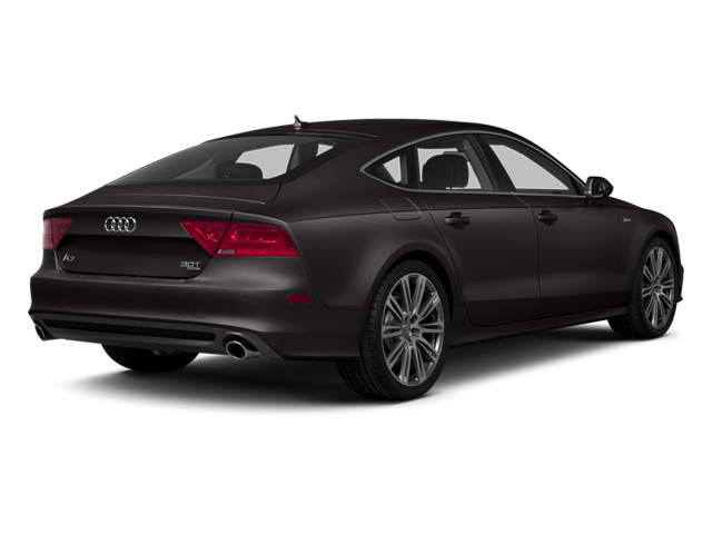 Oolong Gray Metallic 2013 Audi A7 Pictures A7 Sedan 4D 3.0T Premium Plus AWD photos rear view