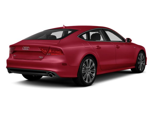 Garnet Red Pearl 2013 Audi A7 Pictures A7 Sedan 4D 3.0T Premium Plus AWD photos rear view