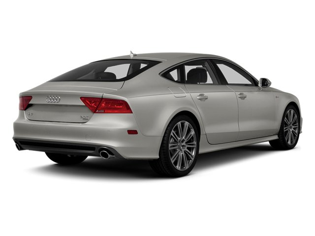 Quartz Gray Metallic 2013 Audi A7 Pictures A7 Sedan 4D 3.0T Premium Plus AWD photos rear view