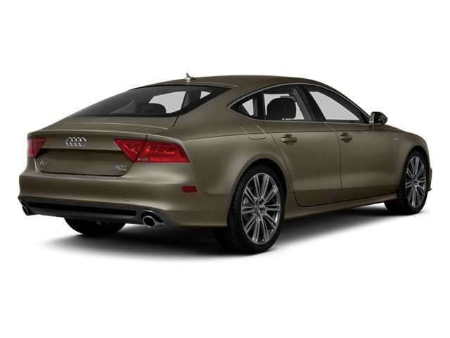 Dakota Gray Metallic 2013 Audi A7 Pictures A7 Sedan 4D 3.0T Premium Plus AWD photos rear view