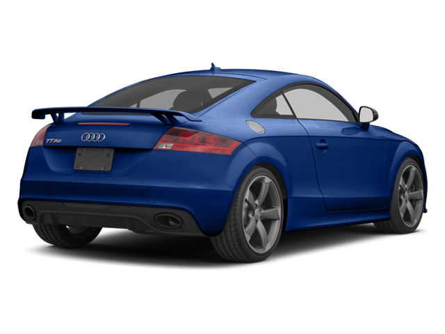 Sepang Blue Pearl 2013 Audi TT RS Pictures TT RS Coupe 2D RS AWD photos rear view