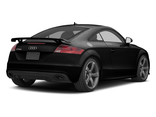 Phantom Black Pearl 2013 Audi TT RS Pictures TT RS Coupe 2D RS AWD photos rear view