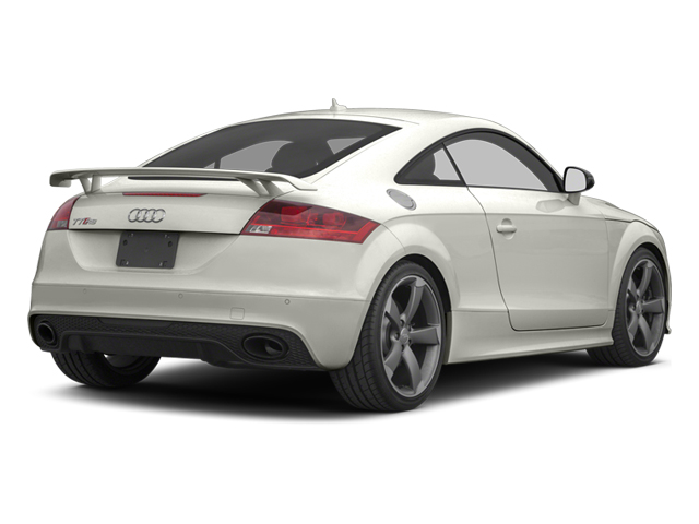 Ibis White 2013 Audi TT RS Pictures TT RS Coupe 2D RS AWD photos rear view