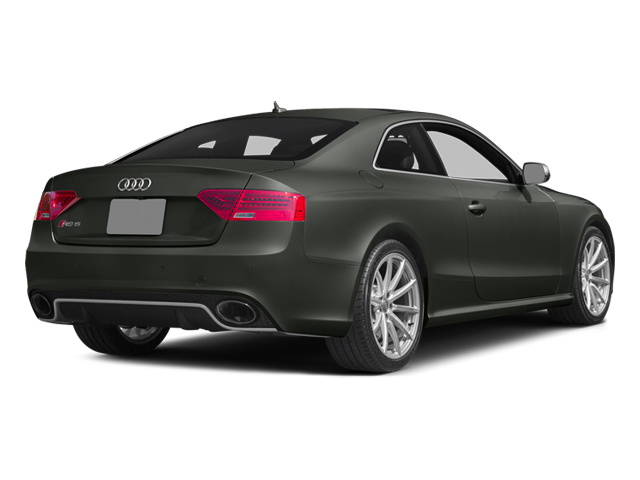 Daytona Gray Pearl 2013 Audi RS 5 Pictures RS 5 Coupe 2D RS5 AWD V8 photos rear view