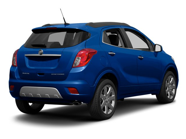 Brilliant Blue Metallic 2013 Buick Encore Pictures Encore Utility 4D AWD I4 Turbo photos rear view