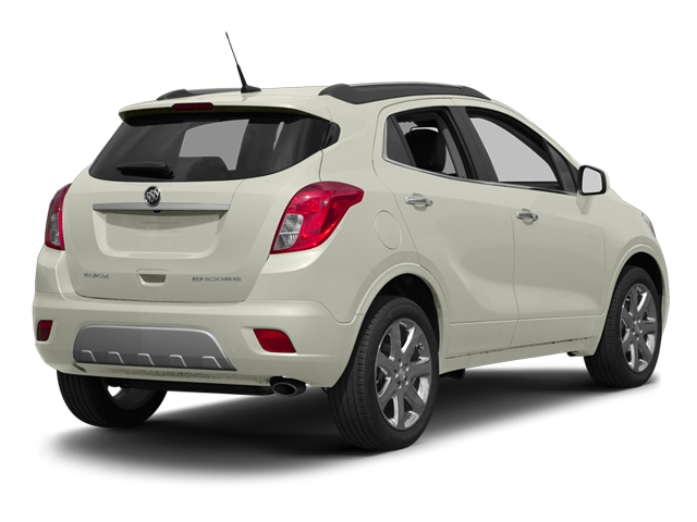 White Pearl Tricoat 2013 Buick Encore Pictures Encore Utility 4D AWD I4 Turbo photos rear view