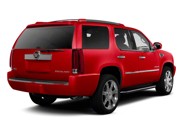 Crystal Red Tintcoat 2013 Cadillac Escalade Pictures Escalade Utility 4D Luxury 2WD photos rear view
