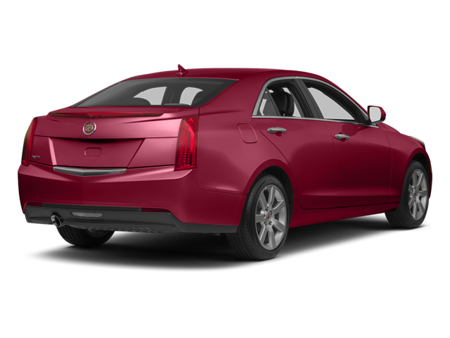 Crystal Red Tintcoat 2013 Cadillac ATS Pictures ATS Sedan 4D Luxury photos rear view