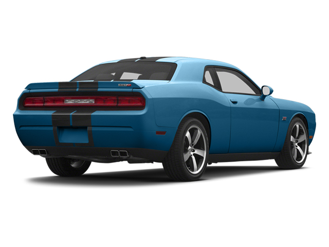 Jazz Blue Pearl 2013 Dodge Challenger Pictures Challenger Coupe 2D SRT-8 V8 photos rear view