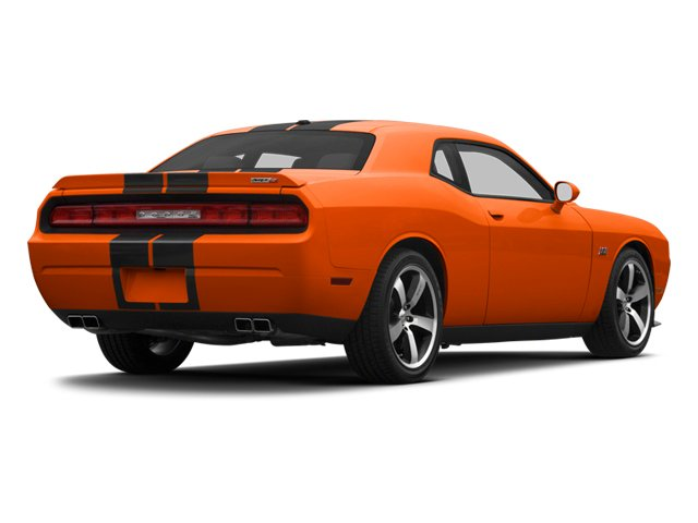 Hemi Orange Pearl 2013 Dodge Challenger Pictures Challenger Coupe 2D SRT-8 V8 photos rear view