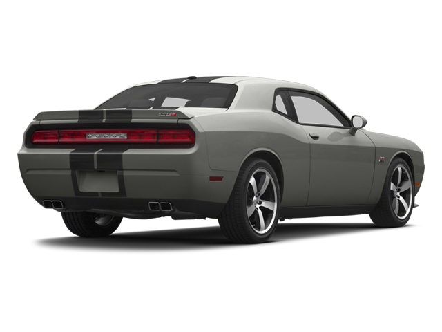 Billet Silver Metallic 2013 Dodge Challenger Pictures Challenger Coupe 2D SRT-8 V8 photos rear view