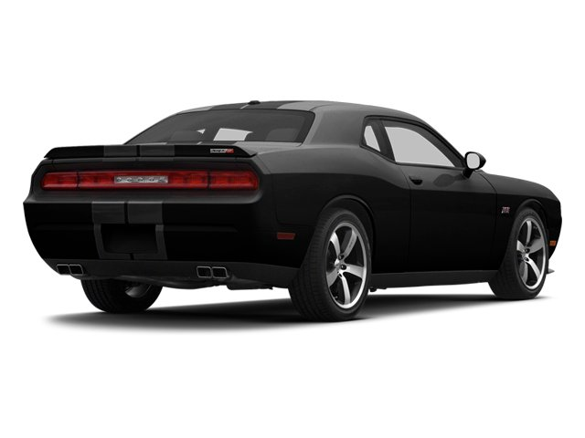 Black 2013 Dodge Challenger Pictures Challenger Coupe 2D SRT-8 V8 photos rear view