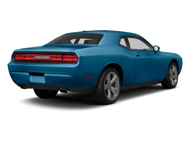 Jazz Blue Pearl 2013 Dodge Challenger Pictures Challenger Coupe 2D R/T V8 photos rear view