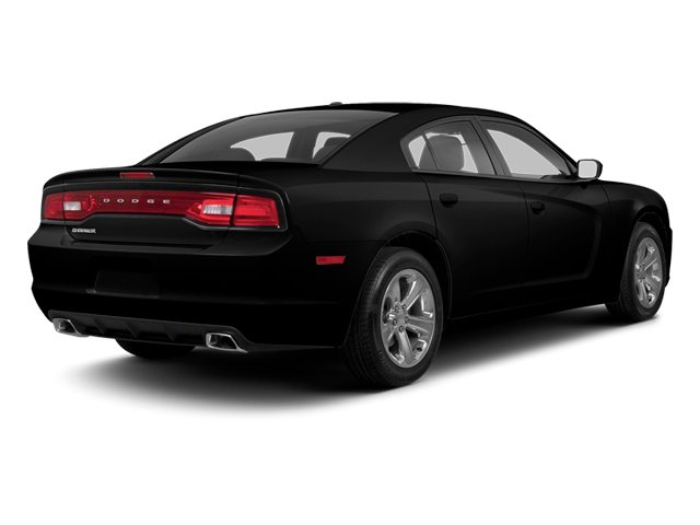 Pitch Black 2013 Dodge Charger Pictures Charger Sedan 4D R/T AWD V8 photos rear view