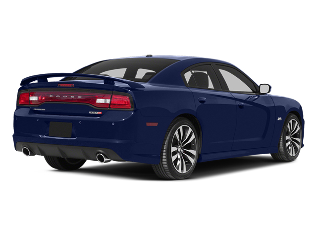 Jazz Blue Pearl 2013 Dodge Charger Pictures Charger Sedan 4D SRT-8 V8 photos rear view