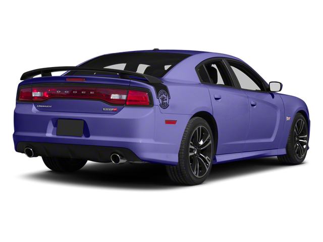 Plum Crazy Pearl 2013 Dodge Charger Pictures Charger Sedan 4D SRT-8 Super Bee V8 photos rear view