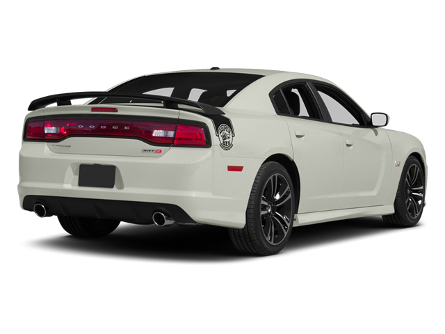 Bright White 2013 Dodge Charger Pictures Charger Sedan 4D SRT-8 Super Bee V8 photos rear view