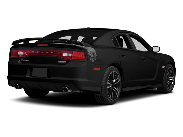 Pitch Black 2013 Dodge Charger Pictures Charger Sedan 4D SRT-8 Super Bee V8 photos rear view