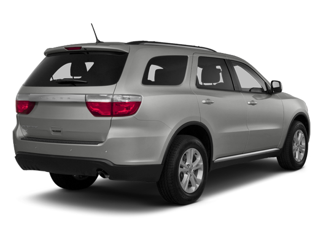 Bright Silver Metallic 2013 Dodge Durango Pictures Durango Utility 4D Crew 2WD photos rear view