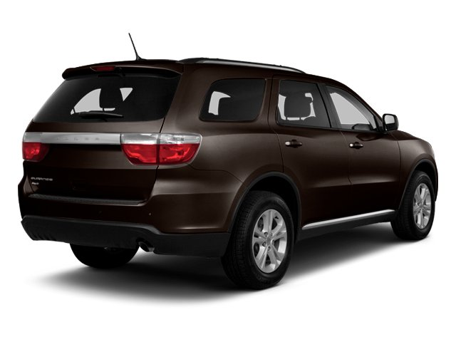 Rugged Brown Pearl 2013 Dodge Durango Pictures Durango Utility 4D Crew 2WD photos rear view