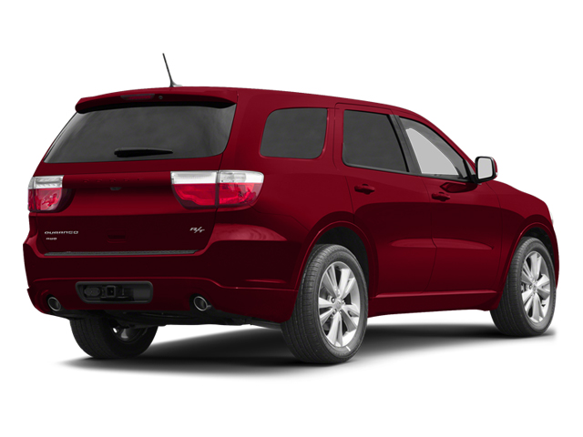 Redline 2 Coat Pearl 2013 Dodge Durango Pictures Durango Utility 4D R/T AWD photos rear view