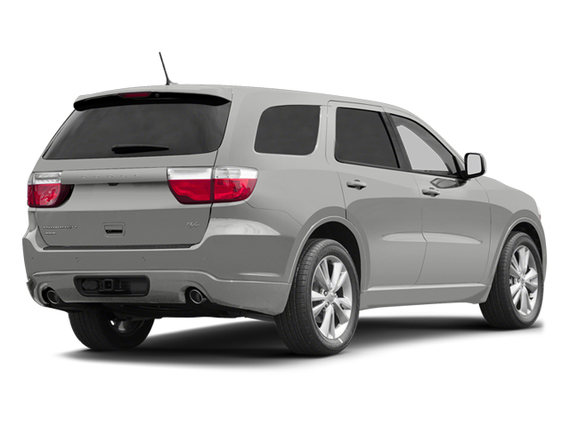 Bright Silver Metallic 2013 Dodge Durango Pictures Durango Utility 4D R/T AWD photos rear view
