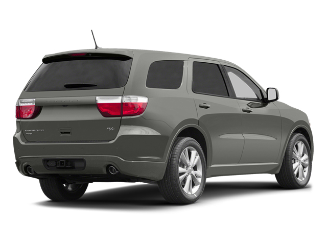 Billet Silver Metallic 2013 Dodge Durango Pictures Durango Utility 4D R/T AWD photos rear view