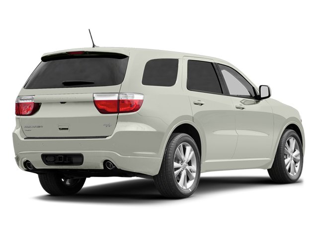 Bright White 2013 Dodge Durango Pictures Durango Utility 4D R/T AWD photos rear view