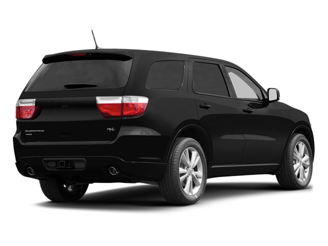 Brilliant Black Crystal Pearl 2013 Dodge Durango Pictures Durango Utility 4D R/T AWD photos rear view