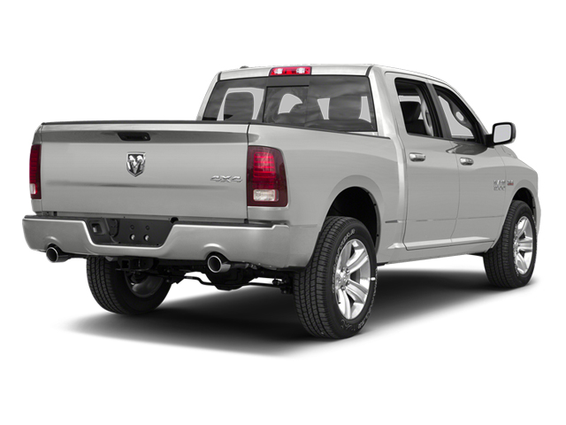 Bright Silver Metallic 2013 Ram Truck 1500 Pictures 1500 Crew Cab SLT 4WD photos rear view